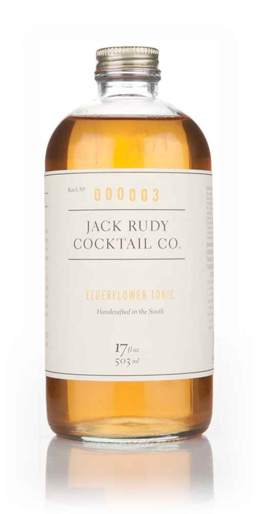 Jack Rudy Cocktail Co. Elderflower Tonic