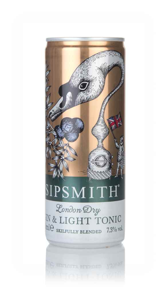 Sipsmith Gin & Light Tonic