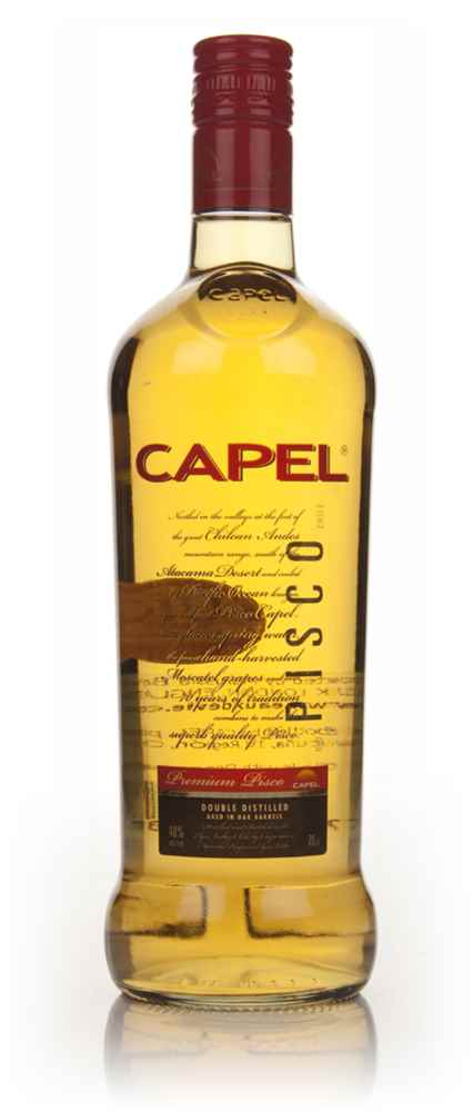 Capel Double Distilled Oak Aged Reservado Pisco