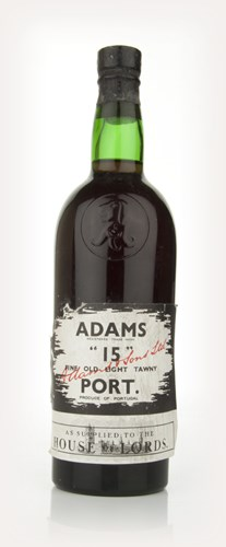 Adams 15 Fine Old Light Tawny Port - 1960s