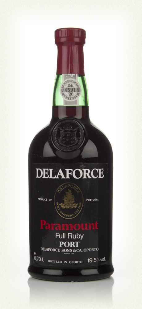Delaforce Paramount Full Ruby Port - 1980s