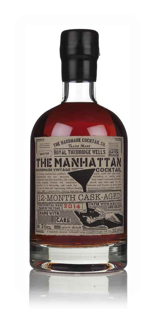 Cask-Aged Manhattan Cocktail 2014 (12 Months)