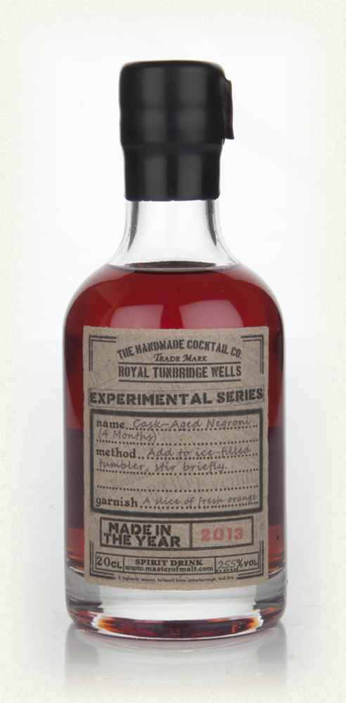 Cask-Aged Negroni (4 Months)