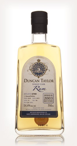 Diamond 10 Year Old 2003 (Cask 72) - Single Cask Rum (Duncan Taylor)