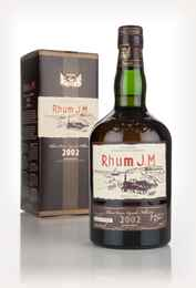 Rhum J.M Vintage 2002 3cl Sample
