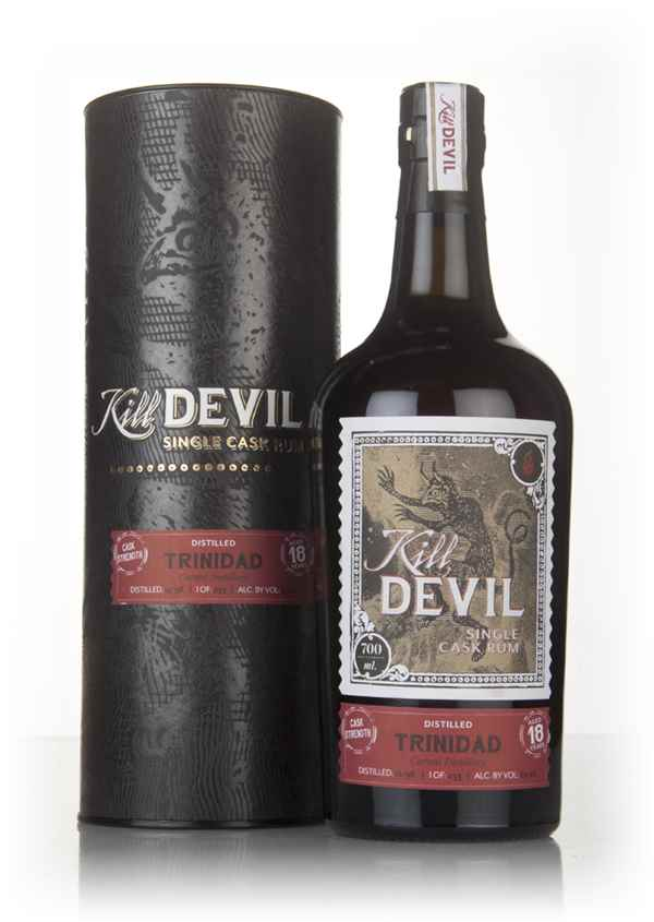 Caroni 18 Year Old 1998 Trinidadian Rum - Kill Devil (Hunter Laing)