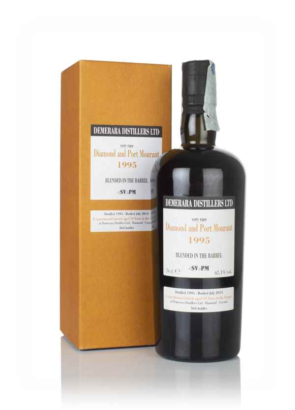 Diamond and Port Mourant 19 Year Old 1995 Blended in the Barrel