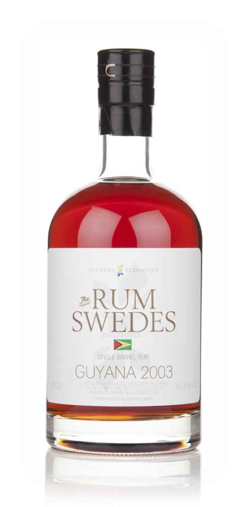 Diamond Distillery 2003 (cask 19) Guyana Single Barrel Rum - The Rum Swedes (Svenska Eldvatten)