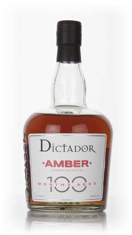 Dictador 100 Months Aged Amber Rum