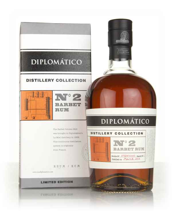 Diplomático No.2 Barbet Rum - Distillery Collection
