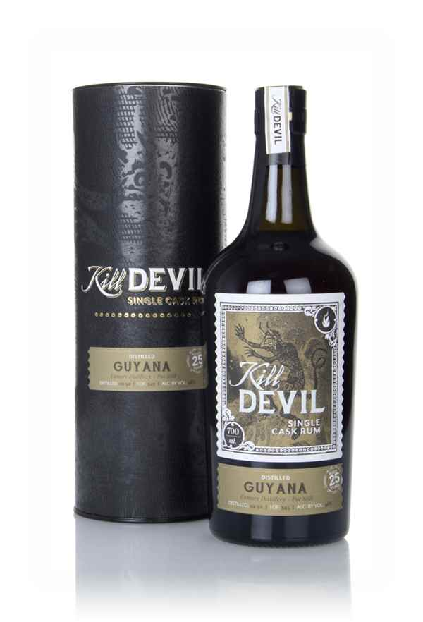 Enmore 25 Year Old 1992 Guyanese Rum - Kill Devil (Hunter Laing)