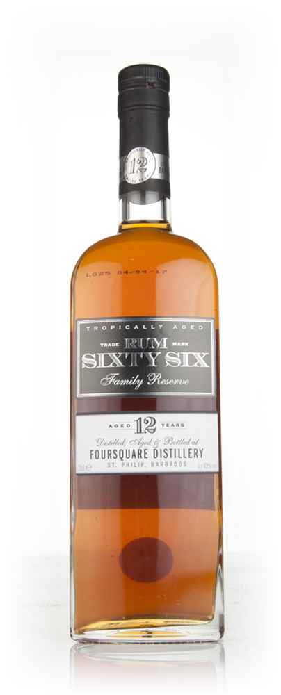 Rum Sixty Six Family Reserve 12 Year Old (43%)