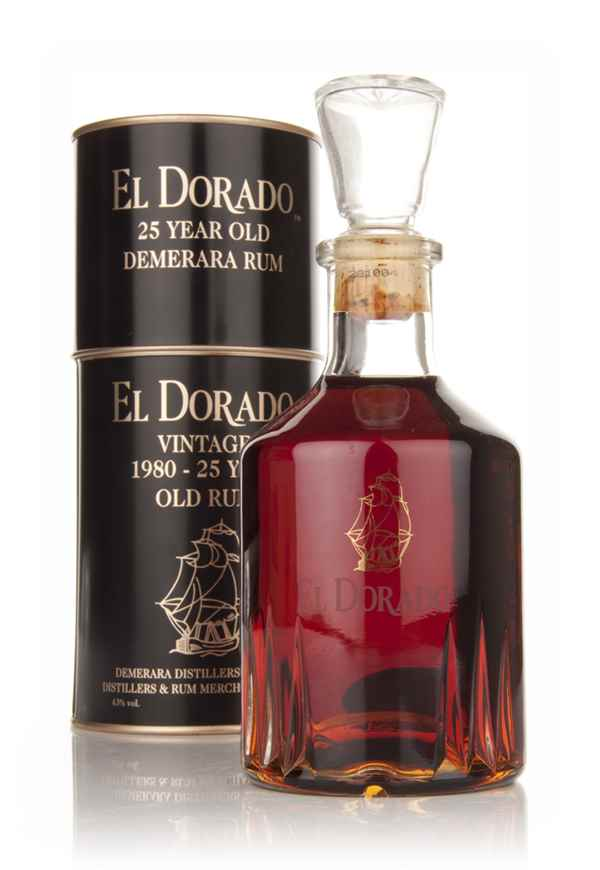 El Dorado 25 Year Old 1980