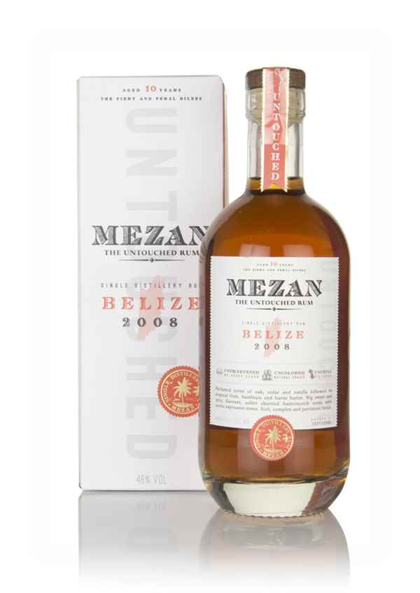 Mezan Belize 2008 (bottled 2018)