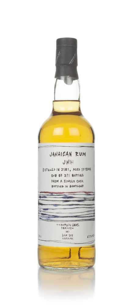 Jamaican Rum 19 Year Old 2001 (Thompson Bros. & Bar Tre)