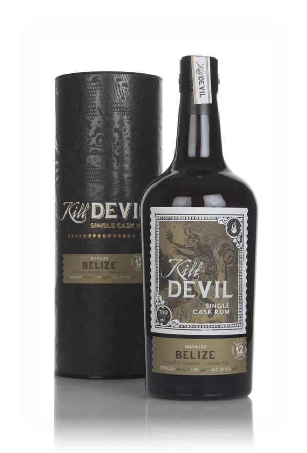 Travellers Distillery 12 Year Old 2007 Belize Rum - Kill Devil (Hunter Laing)