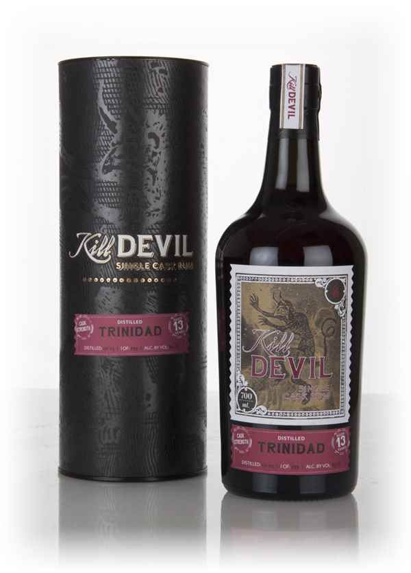 Trinidad Rum 13 Year Old 2003 (63.1%) - Kill Devil (Hunter Laing)