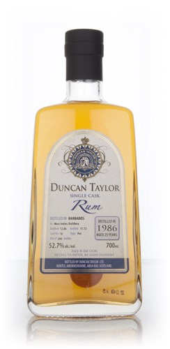 West Indies 25 Year Old 1986 Rum (cask 16) (Duncan Taylor)
