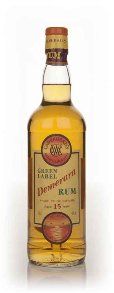 WM Cadenhead Green Label 15 Year Old Demerara Rum
