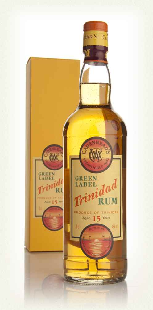Green Label 15 Year Old Trinidad Rum (WM Cadenhead)