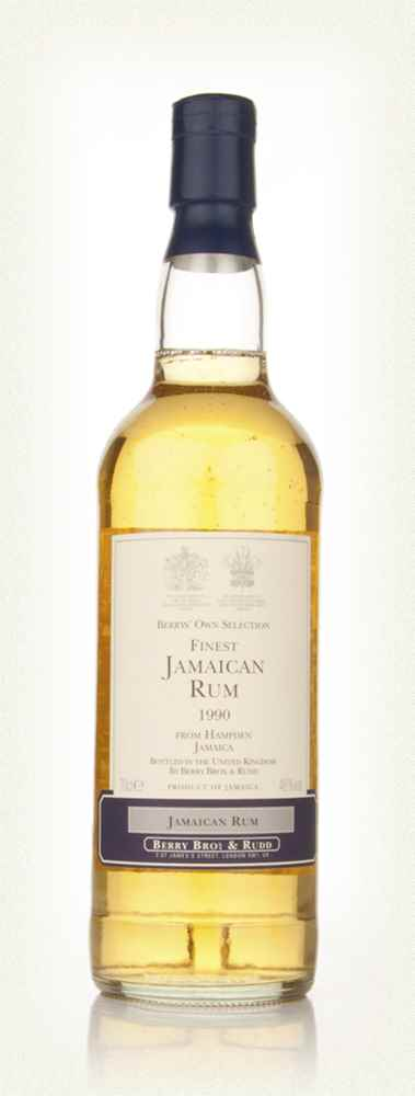 Hampden 1990 Jamaica Rum (Berry Bros. & Rudd)
