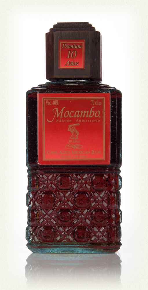 Mocambo 10 Year Old Cask Aged Mexican Rum