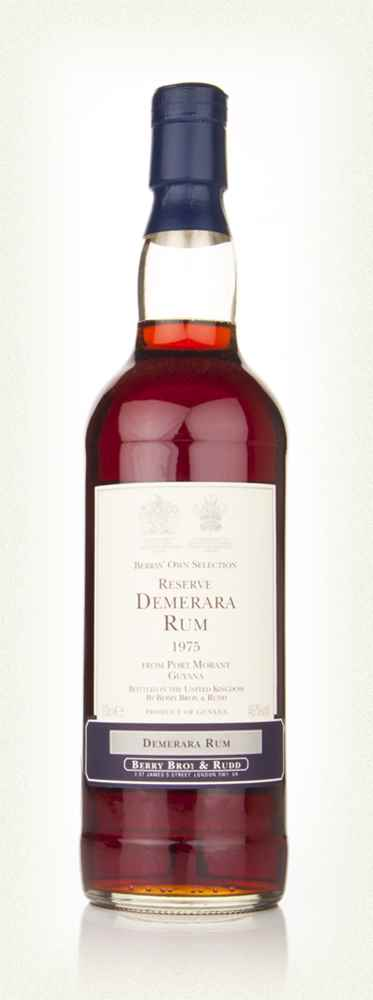 Port Morant Demerara Rum 1975 (Berry Bros. & Rudd)