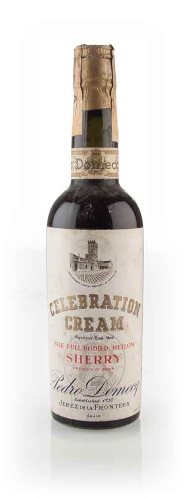 Pedro Domecq Celebration Cream Sherry - 1963