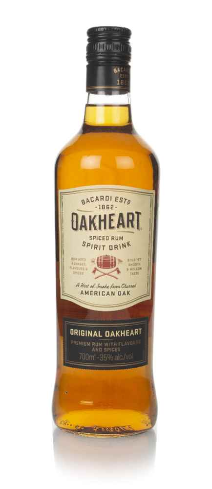 Bacardi oakheart spiced rum spirit drink spirit master for What goes good with spiced rum