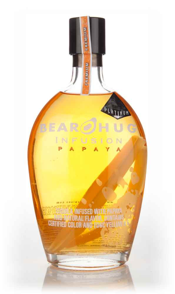 Bear Hug Infusion Papaya Spirit Drink