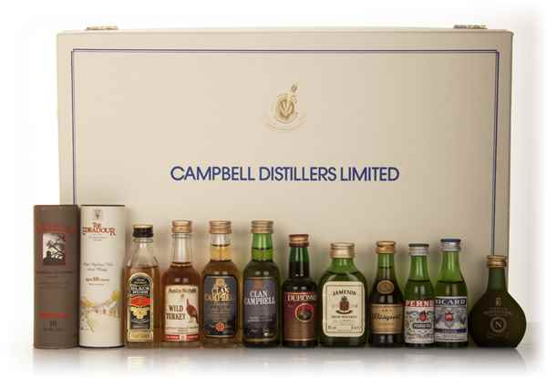 Campbell Distillers Miniatures Set