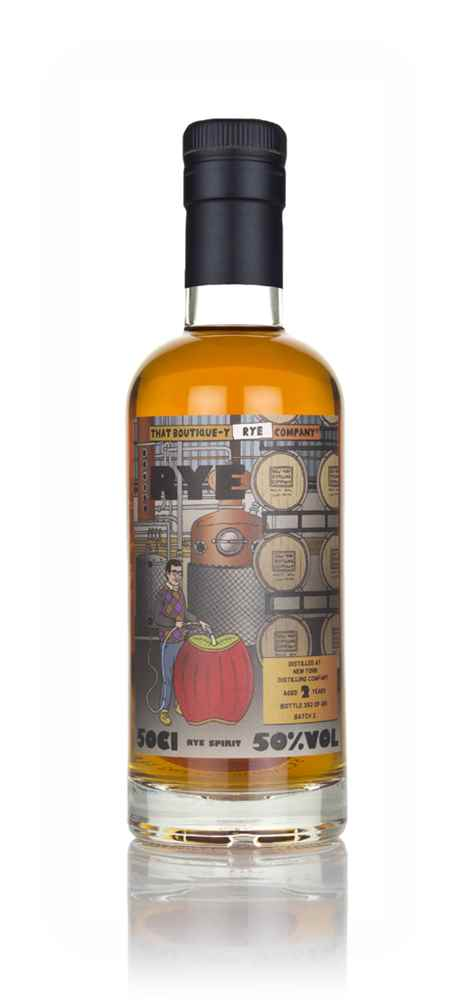 New York Distilling Company 2 Year Old - Batch 2 (That Boutique-y Rye Company)