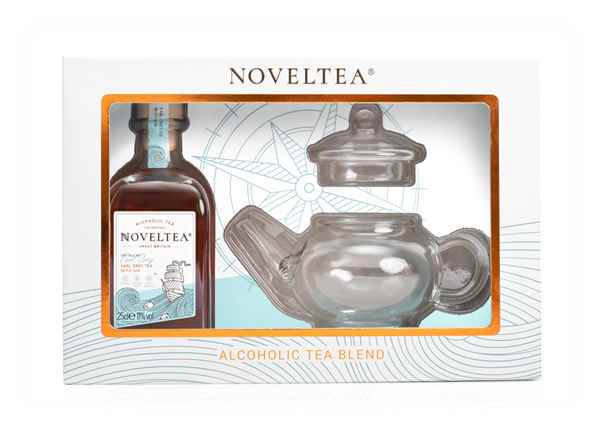 Noveltea The Tale of Earl Grey Teapot Gift Pack