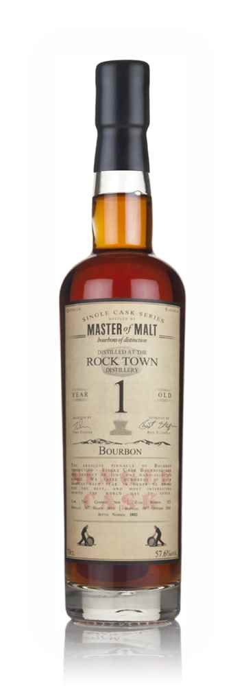 Rock Town 1 Year Old 2015 (cask 353) - Single Cask (Master of Malt)