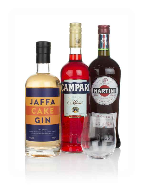 Jaffa Cake Gin Negroni Cocktail Bundle