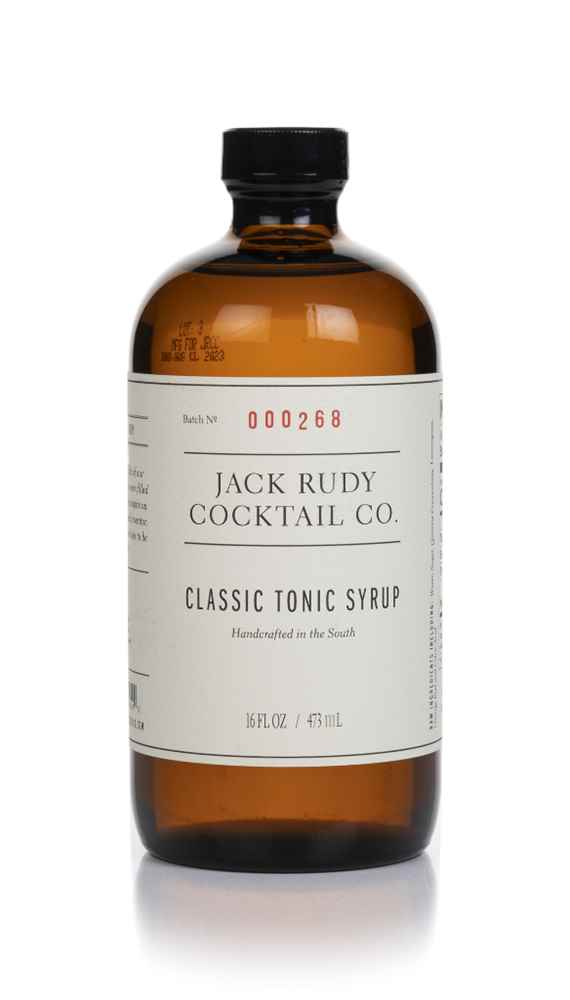 Jack Rudy Cocktail Co. Classic Tonic Syrup