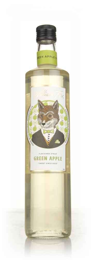 William Fox Green Apple Syrup