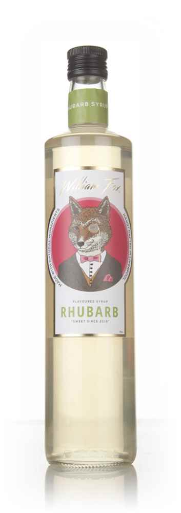 William Fox Rhubarb Syrup