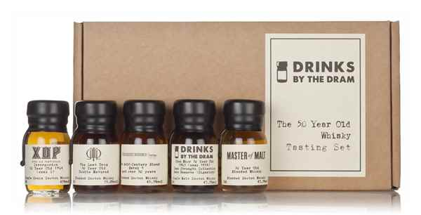 The 50 Year Old Whisky Tasting Set