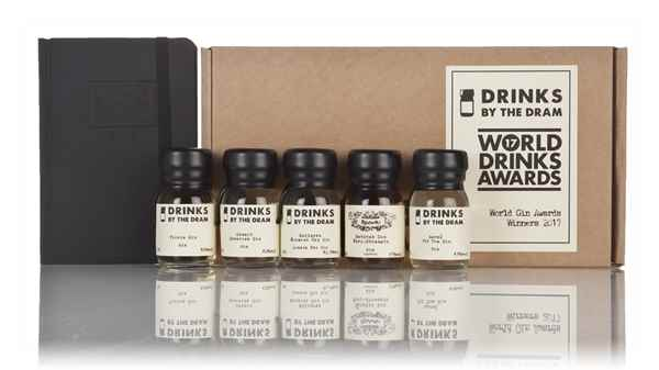 World Drinks Awards 2017 Gin Winners Tasting Set