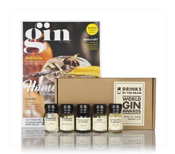World Gin Awards 2018 Overall Winners Tasting Set