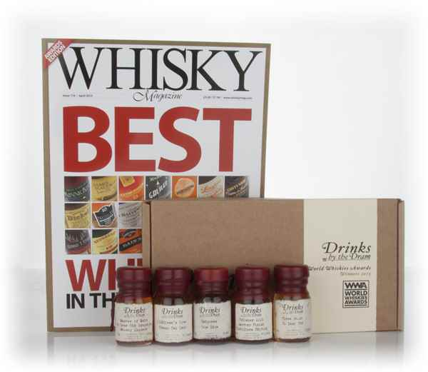 World Whiskies Awards 2013 Winners Tasting Set