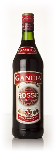 Gancia Rosso (old label)