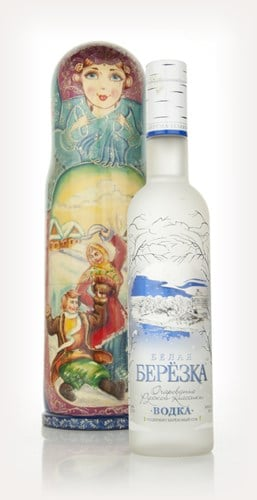 Russian Matrioshka Doll Vodka