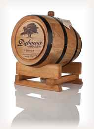 Debowa Polish Oak Vodka Barrel (Black Hoops) - 3 Litre