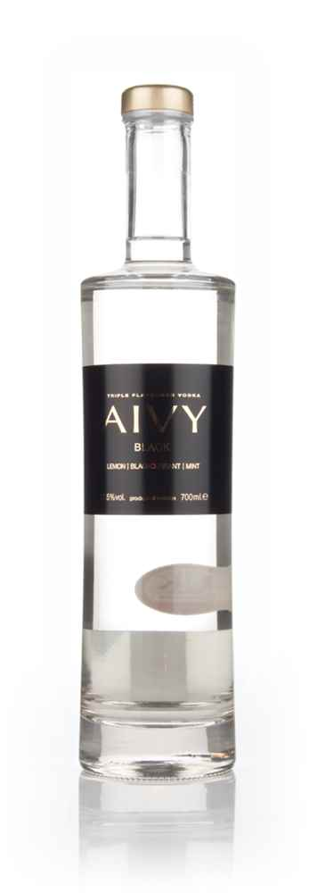 Aivy Black Lemon, Blackcurrant And Mint Triple Flavoured Vodka