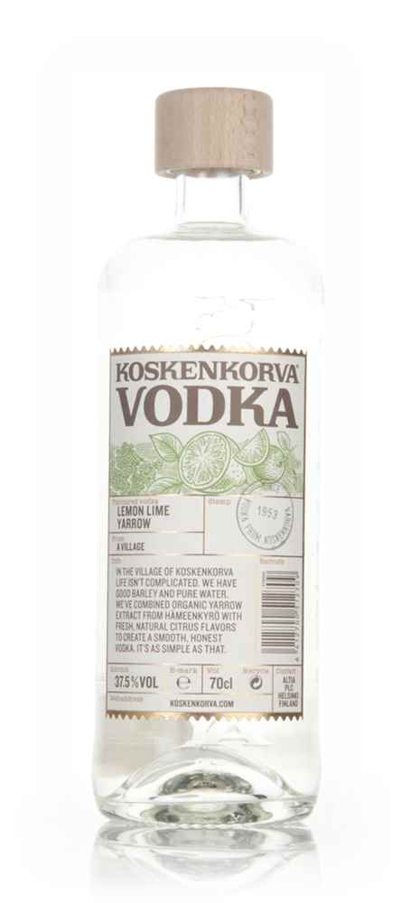 Koskenkorva Vodka  - Lemon Lime Yarrow