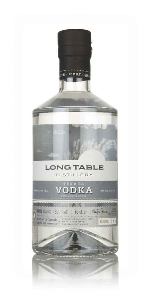 Long Table Texada Vodka