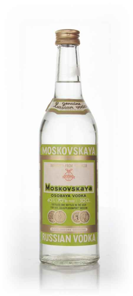 Moskovskaya Vodka 50cl - 1970s