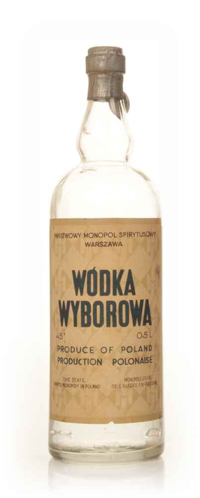 Wybrowa State Spirit Vodka - 1950s